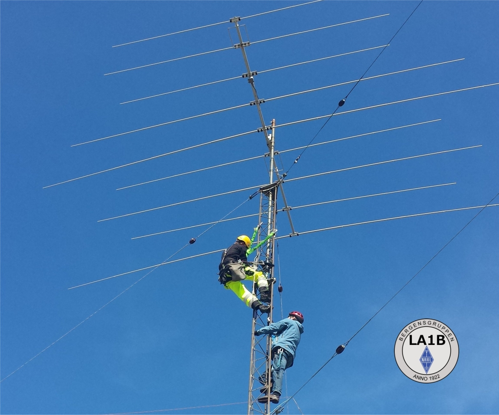 LA1B-Antennawork-mast-optibeam